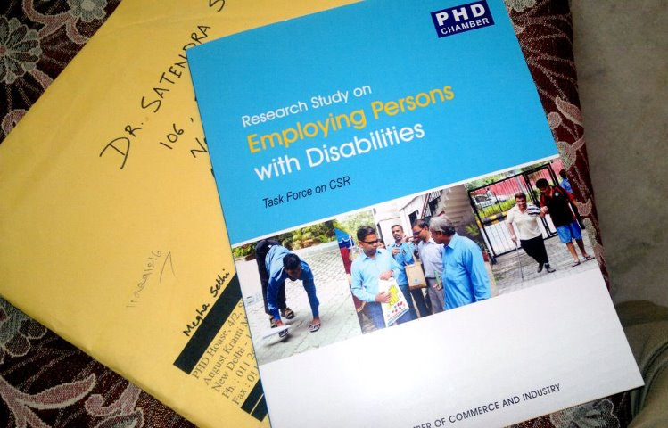 Chapter in PHDCC book - Research study on employing persons with disabilities
